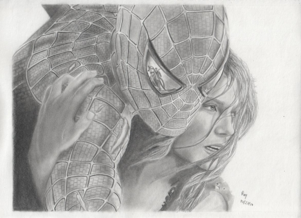 Tobey Maguire by Pencil2Paper